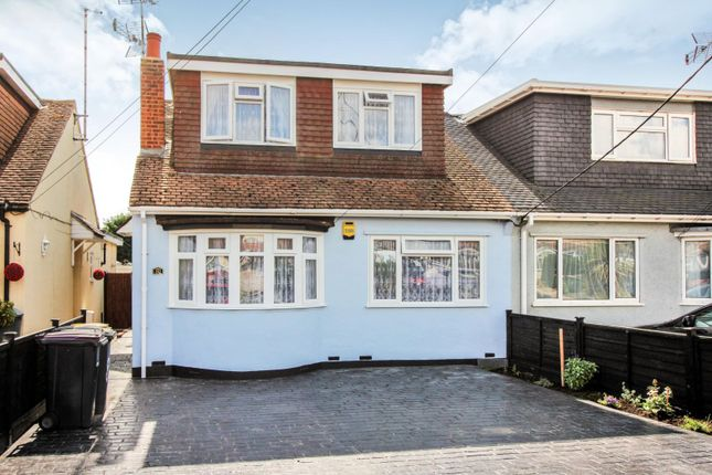 Thumbnail Semi-detached house for sale in Somerset Avenue, Rochford