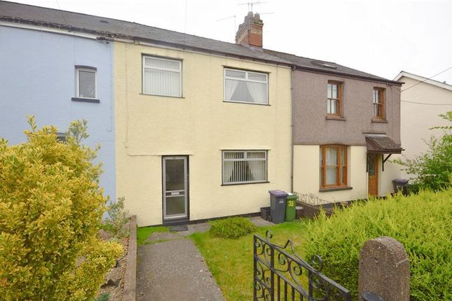 Thumbnail Terraced house for sale in Woodland Road, Croesyceiliog, Cwmbran