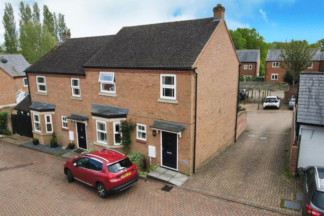 Thumbnail Semi-detached house for sale in Phelps Road, Bletchley, Milton Keynes