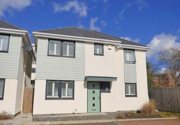 Thumbnail Detached house for sale in The Cuttings, Lower Parkstone, Poole