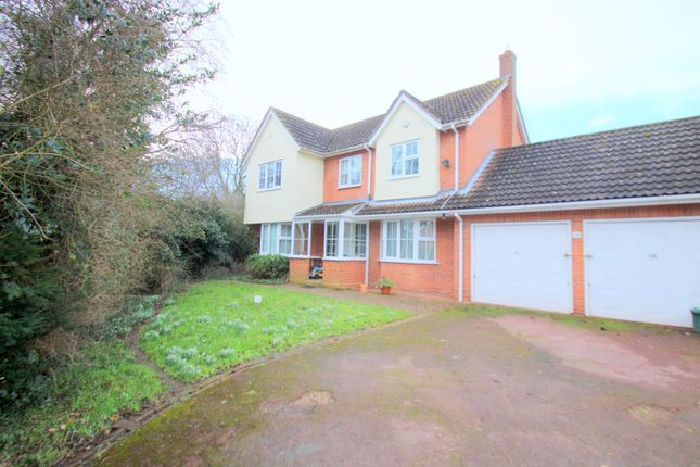 Thumbnail Detached house for sale in Castle Meadow, Sible Hedingham, Halstead
