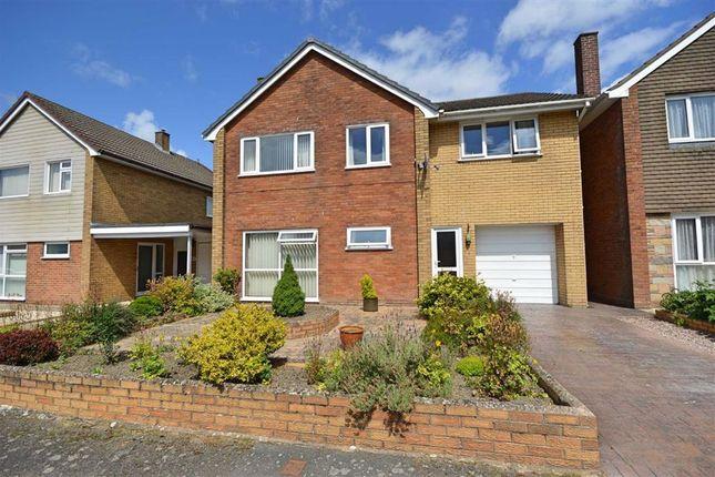Thumbnail Detached house for sale in 5, Glandulas Drive, Mochdre, Newtown, Powys
