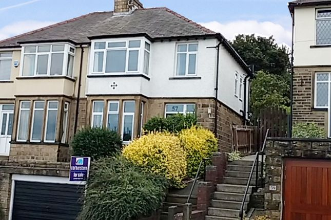 Thumbnail Semi-detached house for sale in Bank End Lane, Huddersfield, West Yorkshire
