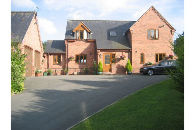 Thumbnail Detached house for sale in Llangyniew, Welshpool