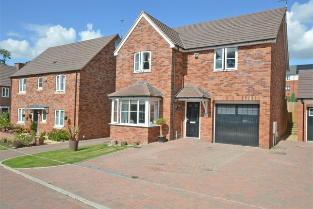 Thumbnail Detached house for sale in Swift Avenue, Eden Park, Rugby, Warwickshire