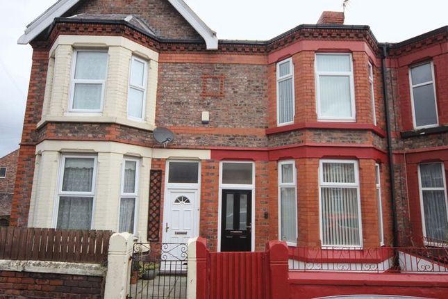 Thumbnail Terraced house for sale in Grange Road West, Prenton