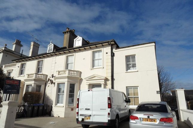 Thumbnail Flat to rent in Heene Road, Worthing