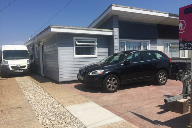 Thumbnail Bungalow for sale in The Boulevard, Pevensey Bay