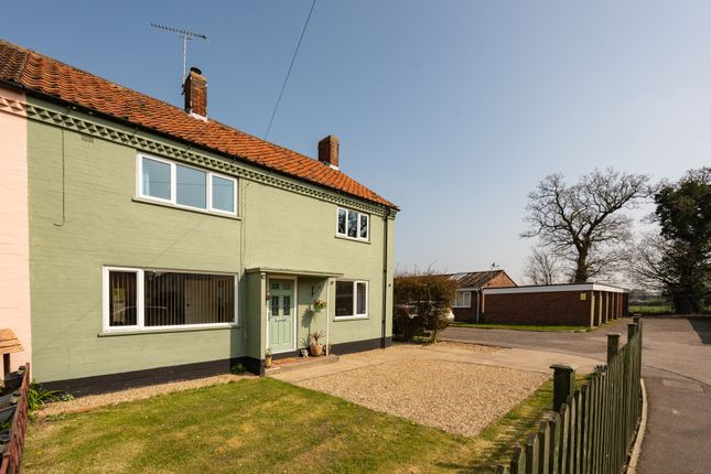 Thumbnail End terrace house for sale in Chartres Piece, Willingham St. Mary, Beccles