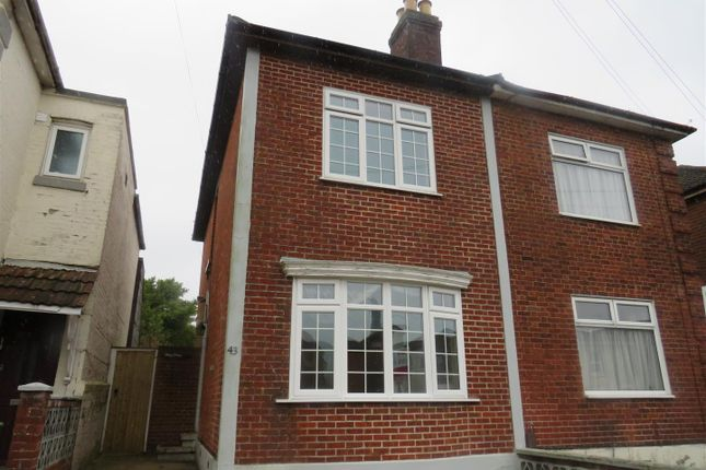 Thumbnail Semi-detached house for sale in Waterloo Road, Southampton