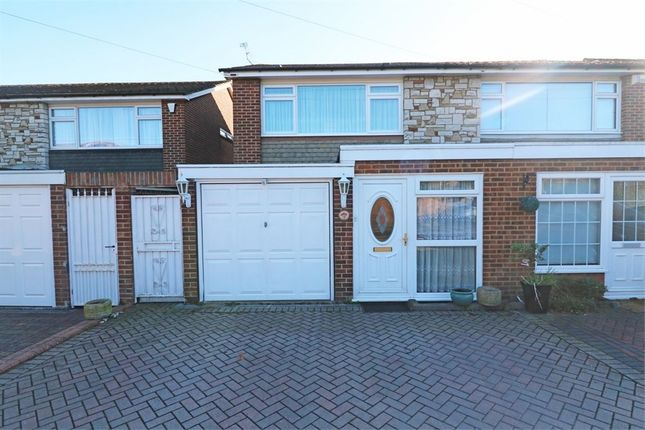 Thumbnail Semi-detached house for sale in Walnut Tree Close, Cheshunt