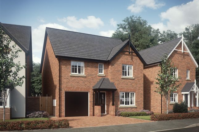 Thumbnail Detached house for sale in Chester Road, Hinstock, Shropshire