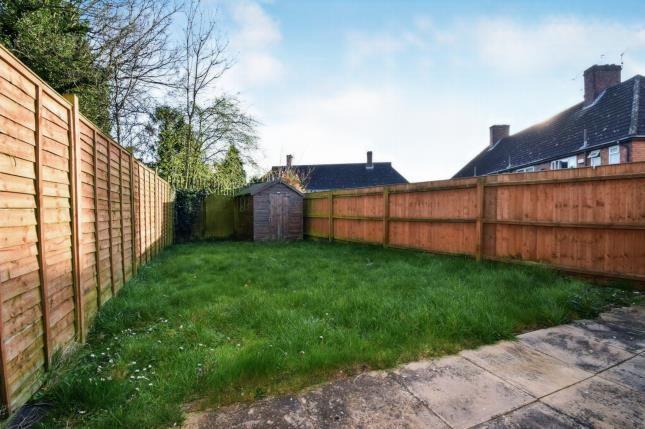 Rear Garden of Boynton Road, Braunstone, Leicester, Leicestershire LE3