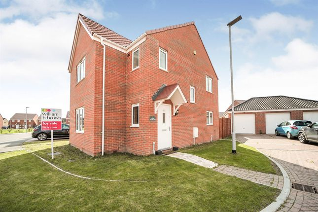 Thumbnail Detached house for sale in Smokehouse View, Beck Row, Bury St Edmunds