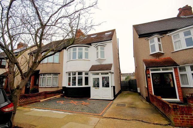 Thumbnail Semi-detached house for sale in Cambridge Avenue, Gidea Park, Romford