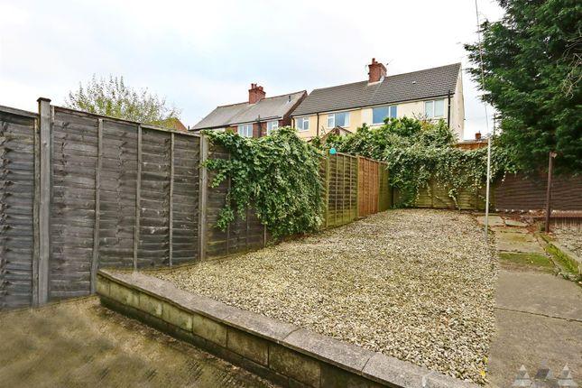 Rear Garden of John Street, Brimington, Chesterfield, Derbyshire S43