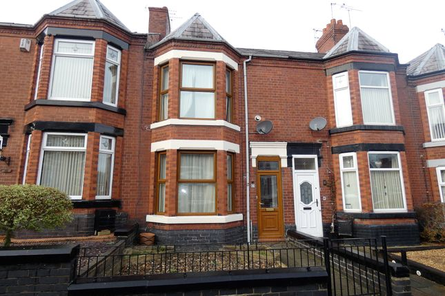 Thumbnail Terraced house to rent in Stamford Avenue, Crewe