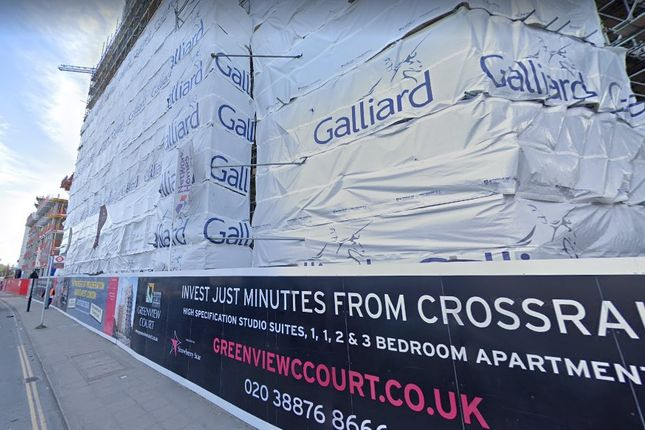 Thumbnail Flat for sale in Greenview Court, Merrick Road, Southall, London