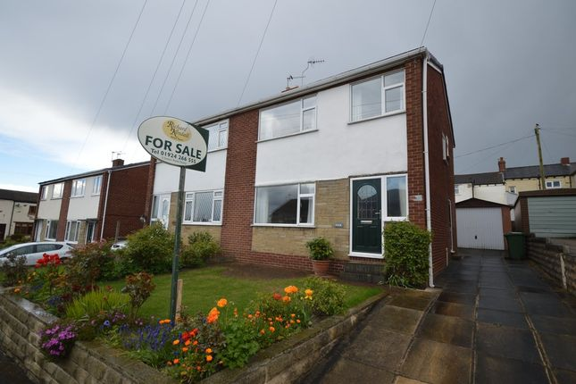 Thumbnail Semi-detached house for sale in Thornhill Close, Middlestown, Wakefield