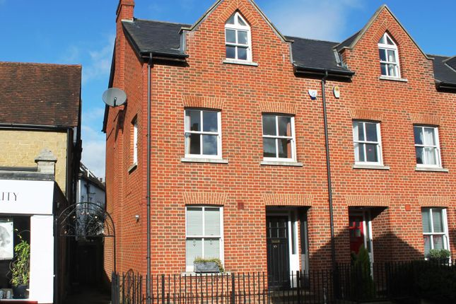 Thumbnail End terrace house to rent in High Street, Westerham