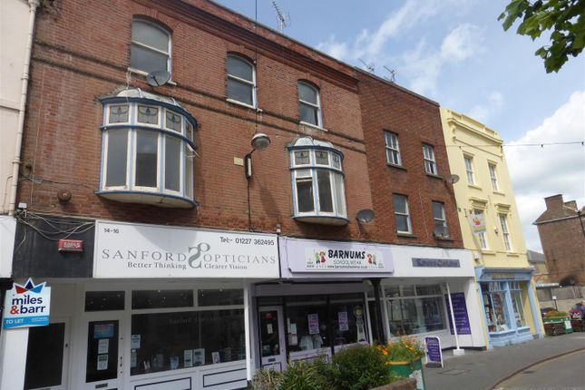 Thumbnail Flat to rent in William Street, Herne Bay