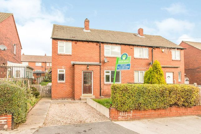Thumbnail Semi-detached house to rent in Manor Road, Rothwell, Leeds