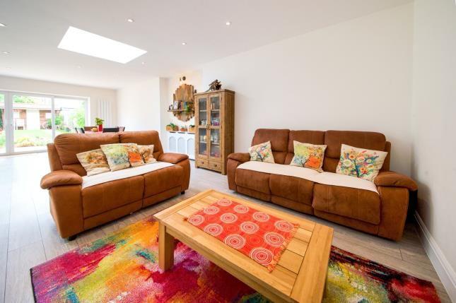 Lounge of Vivian Avenue, Wembley, Middlesex, England HA9