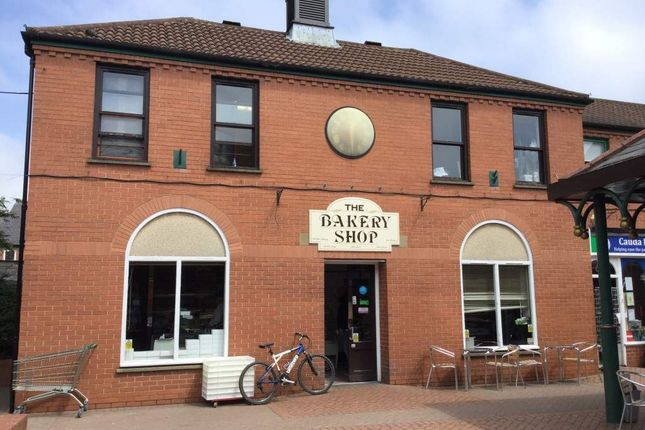 Thumbnail Retail premises for sale in High Street, Syston, Leicester