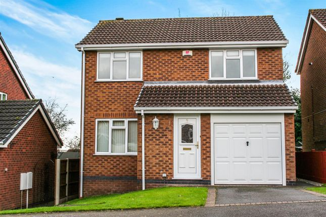 Thumbnail Detached house to rent in Owlswick Close, Littleover, Derby