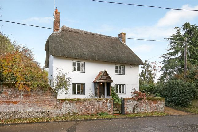 Thumbnail Detached house for sale in Church Lane, Houghton, Stockbridge, Hampshire