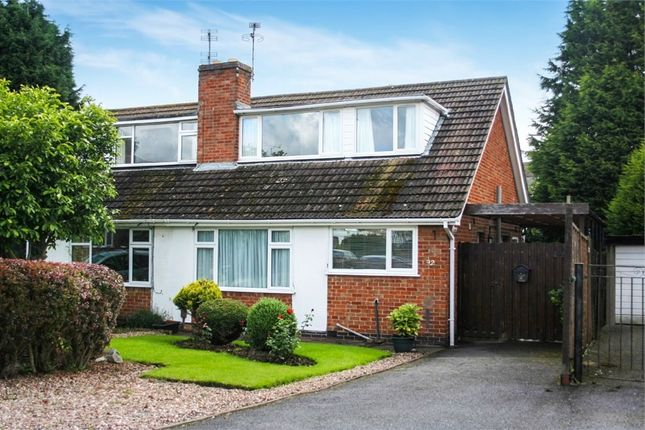 3 bed semi-detached house for sale in Paterson Place, Shepshed, Loughborough, Leicestershire
