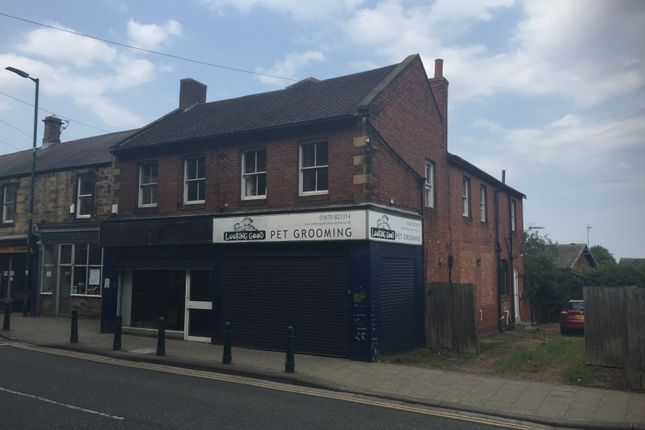 Thumbnail Retail premises for sale in Front Street, Bedlington