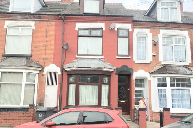 Thumbnail Terraced house for sale in Melbourne Road, Leicester