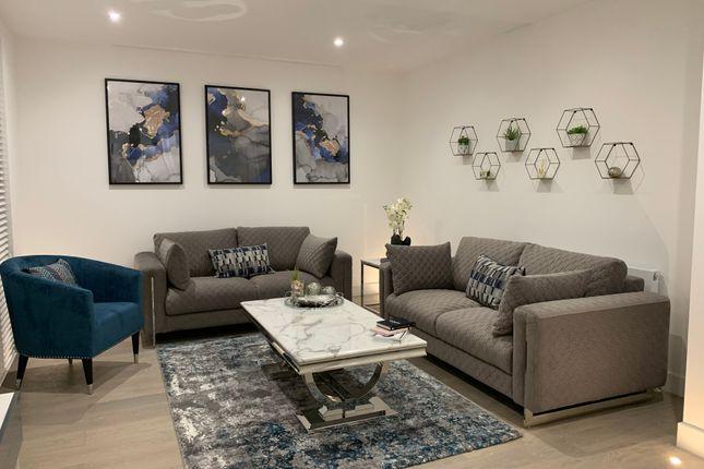 Thumbnail Flat to rent in High Road, Ickenham Village, Ickenham Village