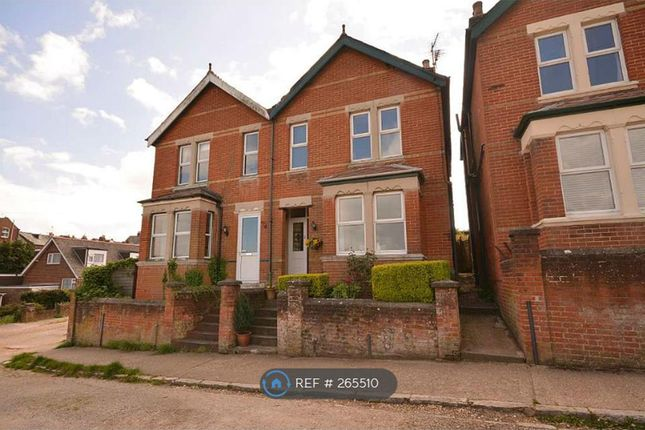Semi-detached house to rent in Alexandra Road, Cowes