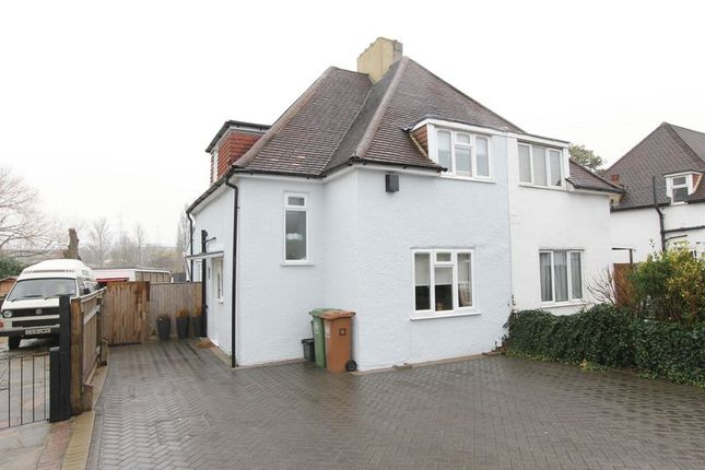 3 bed semi-detached house for sale in Gander Green Lane, Cheam, Surrey