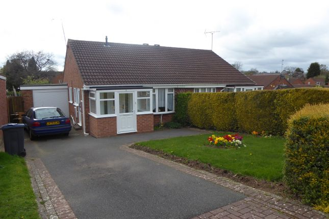 Thumbnail Semi-detached bungalow for sale in Rea Valley Drive, Northfield, Birmingham
