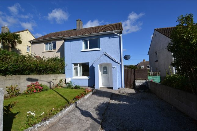 Thumbnail Semi-detached house for sale in Tresaderns Road, Redruth