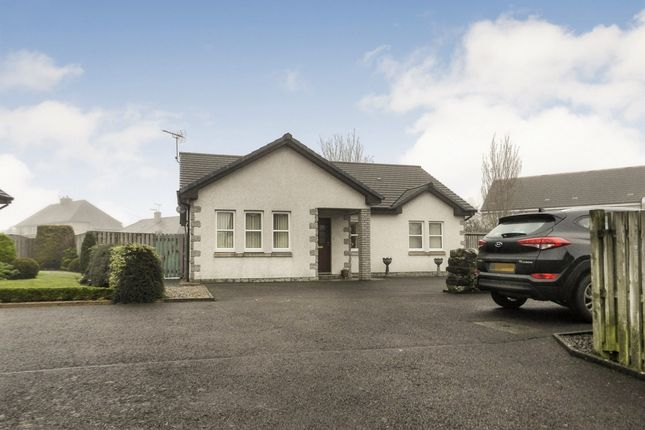 Thumbnail Detached bungalow for sale in 10 Crosslaw Burn, Moffat, Dumfries & Galloway