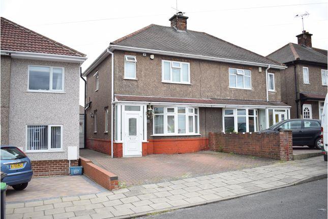 Thumbnail Semi-detached house for sale in Bank Avenue, Sutton-In-Ashfield