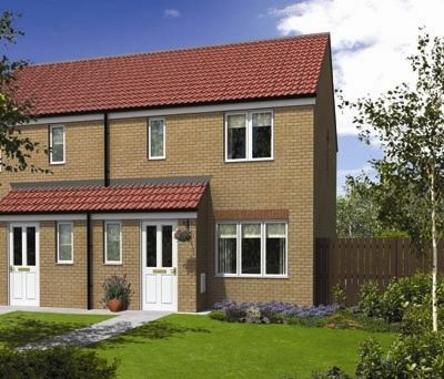 "Thumbnail Semi-detached house for sale in ""The Hanbury"" at Ettingshall Road, Ettingshall, Wolverhampton"
