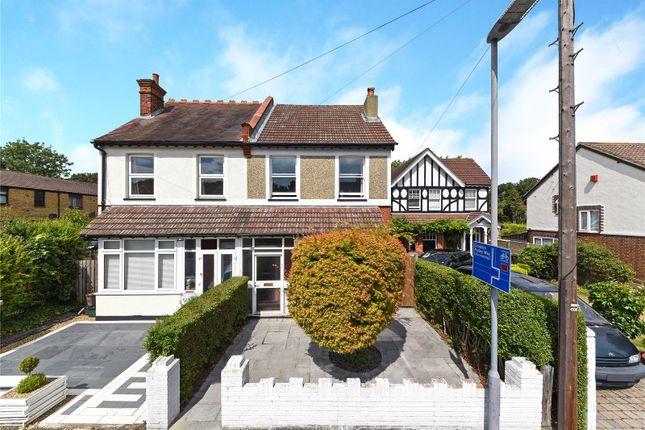 Thumbnail Semi-detached house for sale in Sandy Lane North, Wallington