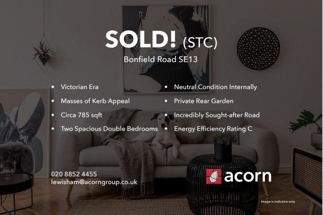 2 bed flat for sale in Bonfield Road, London SE13