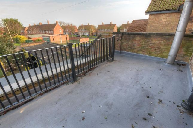 Roof Terrace of Bessingby Gate, Bridlington YO16