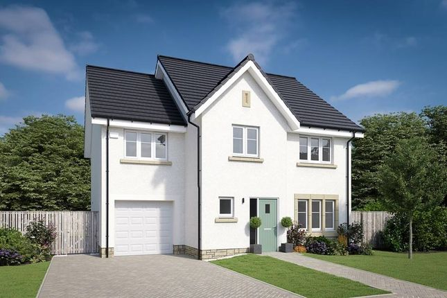 "Thumbnail Detached house for sale in ""The Bryce"" at Mauricewood Road, Penicuik"