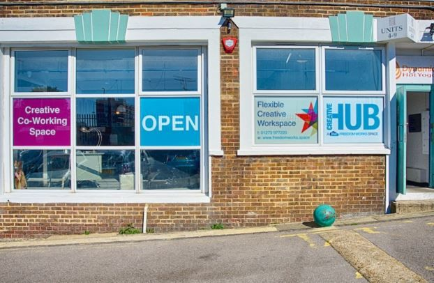 Thumbnail Office to let in Freedom Works Creative Hub, Hove Business Centre, Fonthill Road, Hove