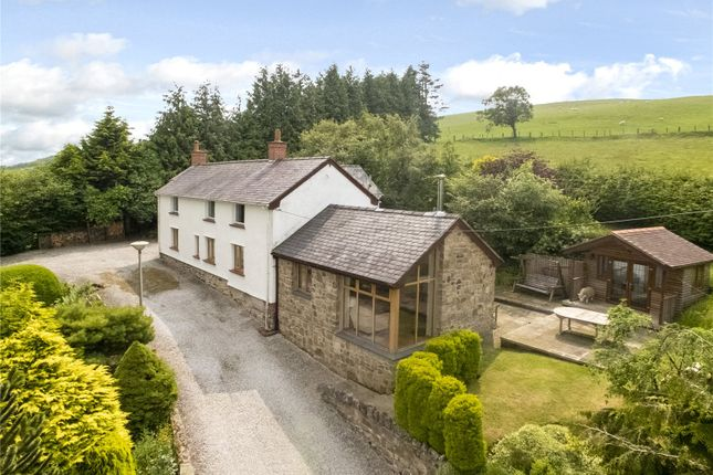 Thumbnail Detached house for sale in Llandegla, Wrexham, Clwyd