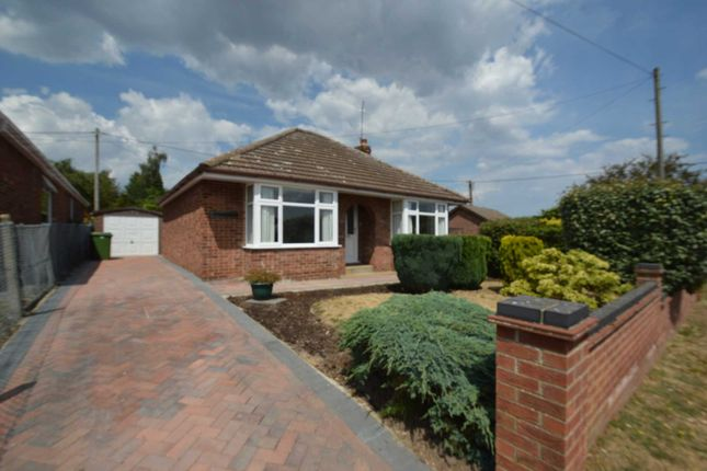 Thumbnail Detached bungalow for sale in Valley Road, New Costessey, Norwich