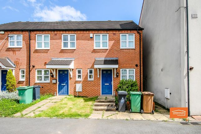 Thumbnail End terrace house for sale in Bentley Lane, Walsall