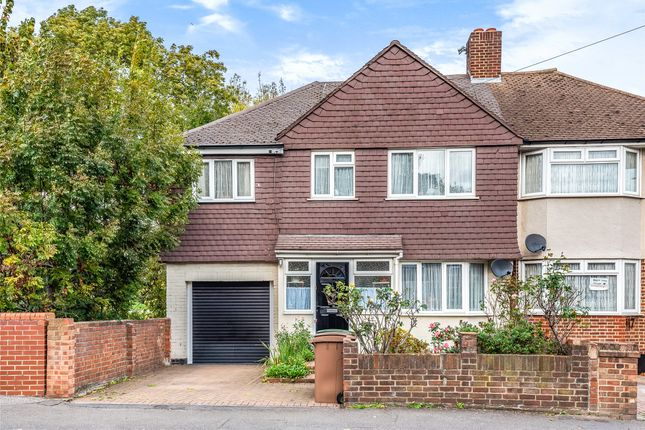 Thumbnail Semi-detached house for sale in Culvers Avenue, Carshalton, Surrey